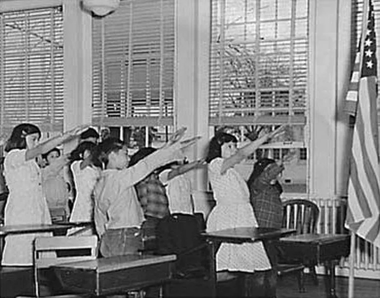 The Official Pledge of Allegiance Salute Used to be a 'Hitler Salute'