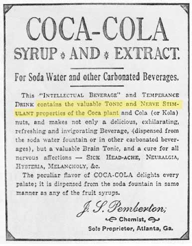 Coca Cola S Secret Ingredient Used To Be Cocaine