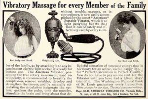 Vibrators were Sold in the Sears & Roebuck Catalogue