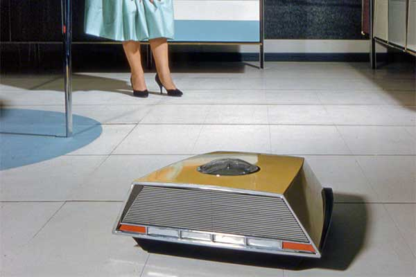 A Roomba-Like Cleaner was Patented in 1957