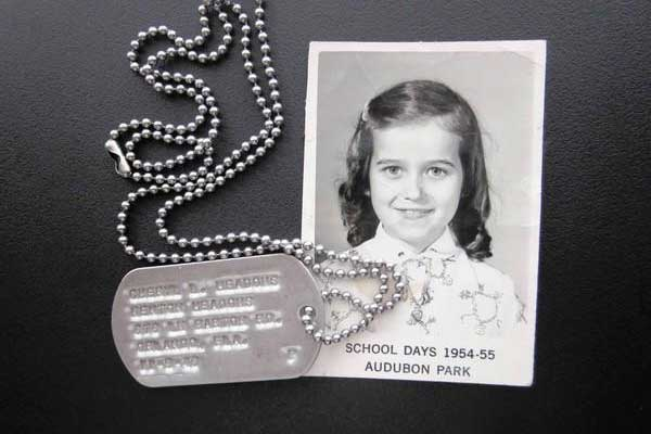 1950s School Children Wore Dog Tags
